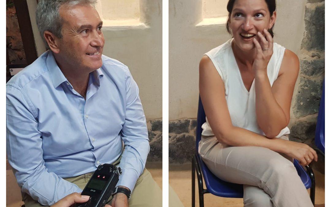 18-7-28 Entrevista a doña Zaida González Rodríguez y don Óscar García González.